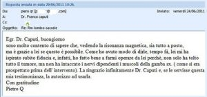lettera neurinoma